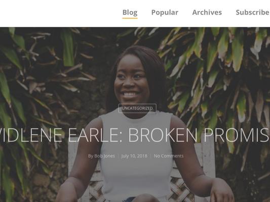 One More Blogger Tells Widlene's Story