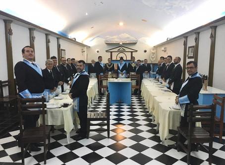 GRÃO-MESTRE PARTICIPA DE BANQUETE RITUALÍSTICO NA ACÁCIA DO POTENGI