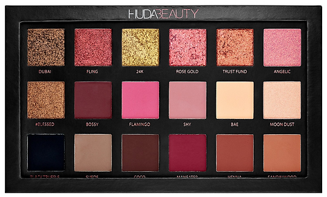 Honest Review Huda Beauty Rose Gold Eyeshadow Palette Swatches