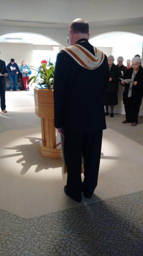 Bishop Malooly's Dedication