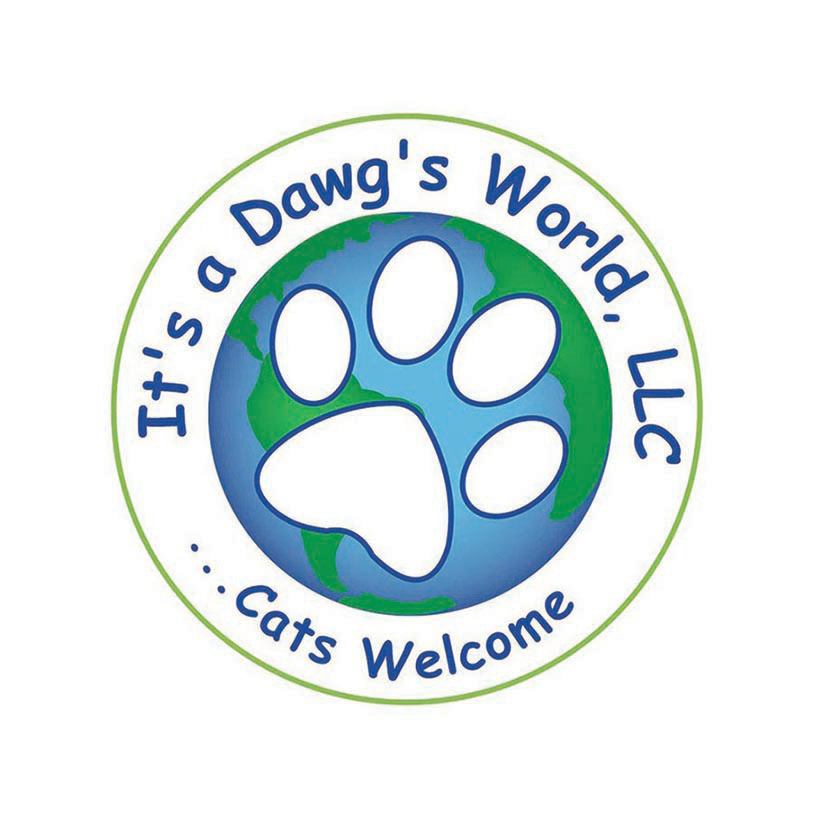 It's a Dawg's World Logo