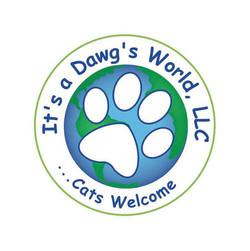It's a Dawg's World Logo