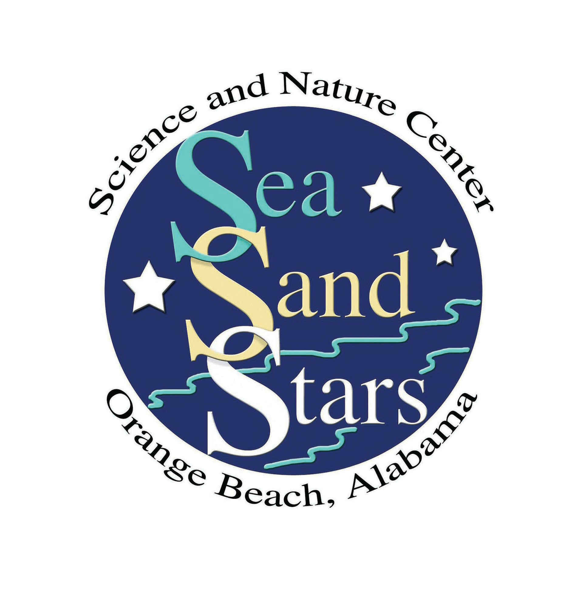 Sea Sand and Stars Logo