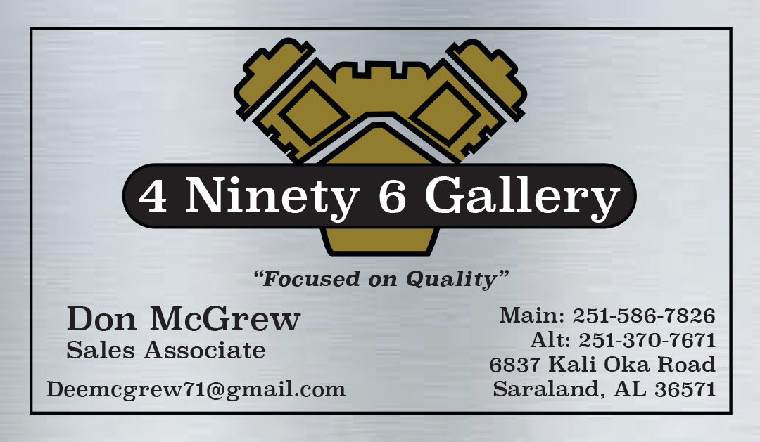 4 Ninety 6 Gallery Business Card - 2