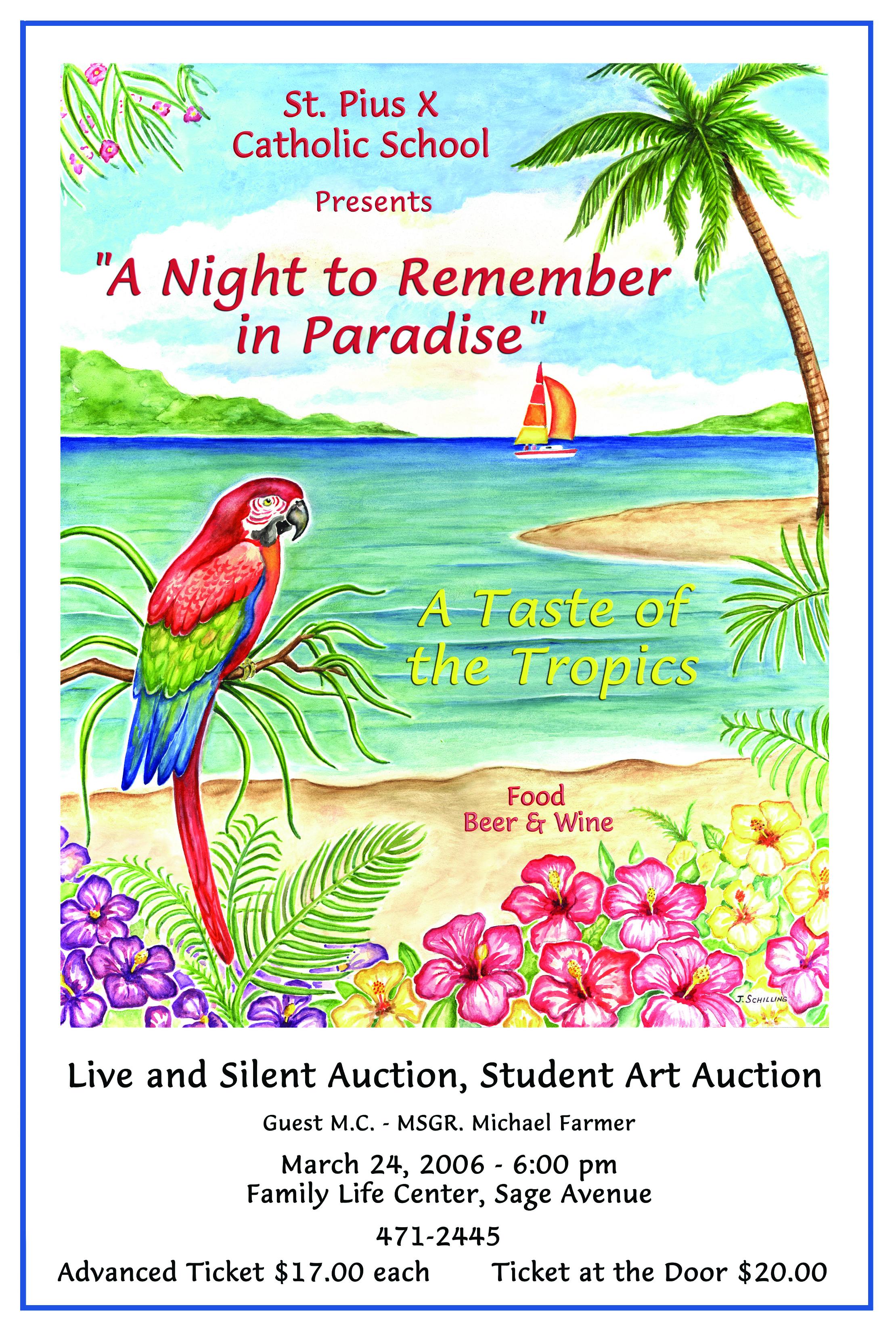 Paradise Poster (SPX )