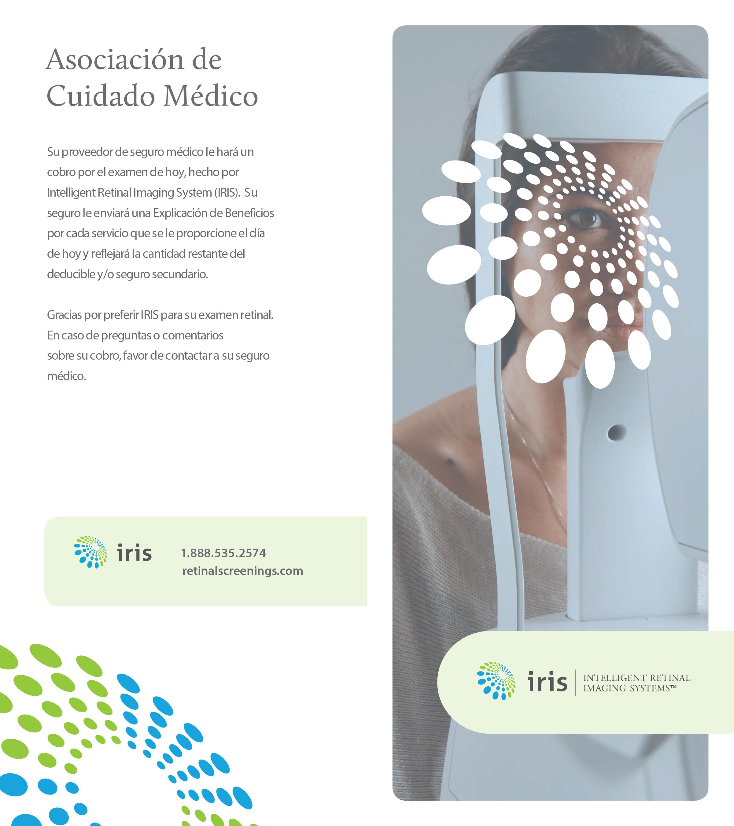 IRIS Bifold Rack Card (Spanish)