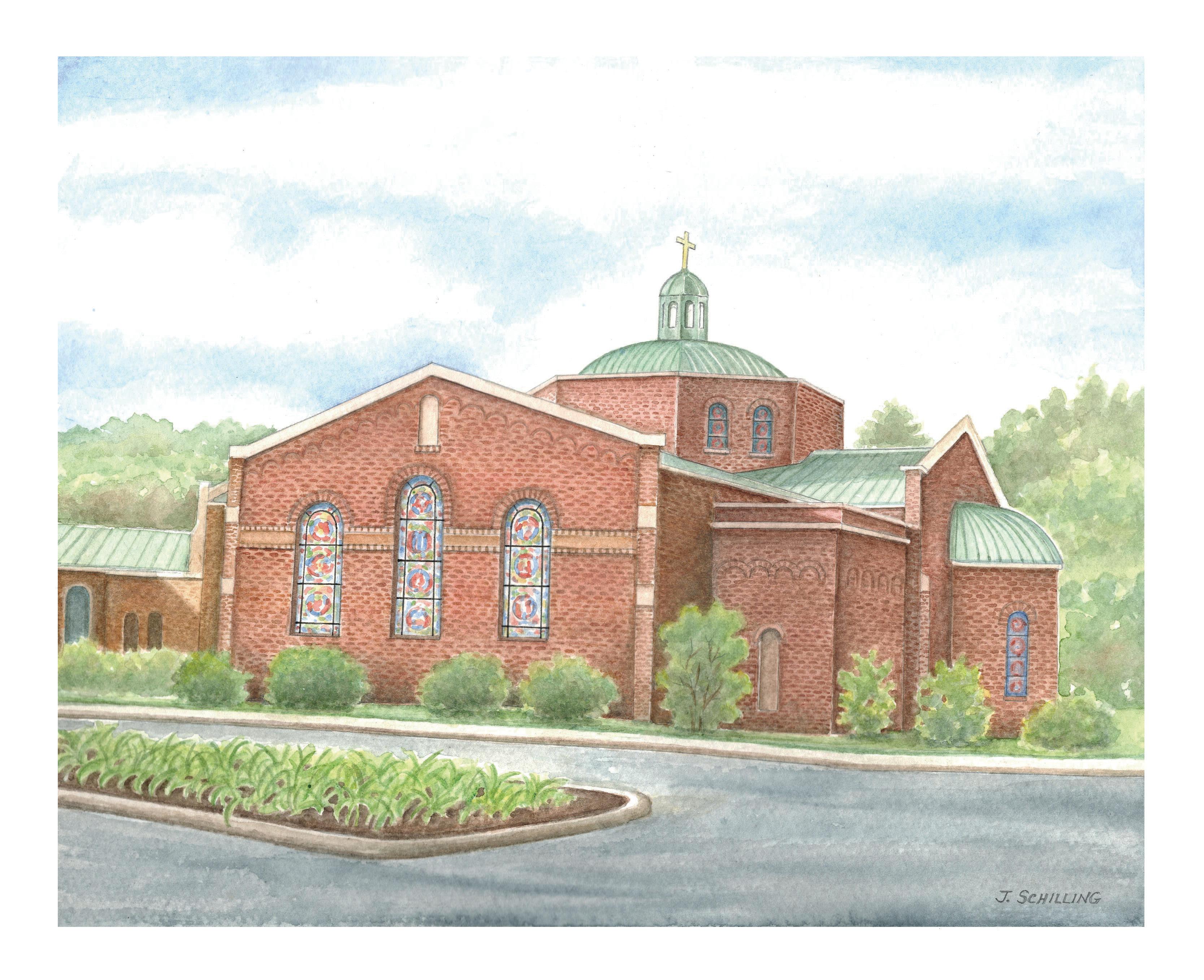 St Thomas Church-Charlottesville, VA