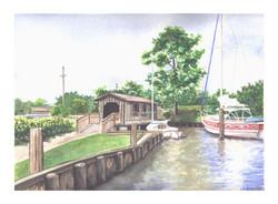 Covered Bridge-Grand Hotel-Alabama