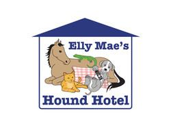 Elly Maes Hound Hotel Logo