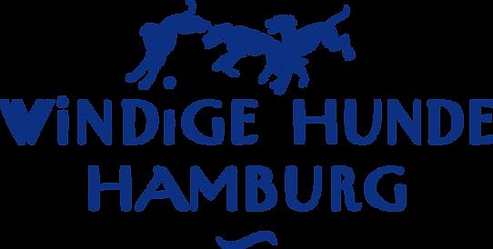 Windige Hunde Hamburg Logo mit Windhunden