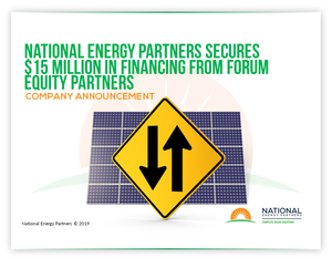 National Energy Partners Secures $15 Million in Financing