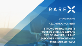 Strong Initial Results From RC Drilling Expand Size of Main Fault And...