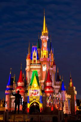 Cinderella Castle Projection Show