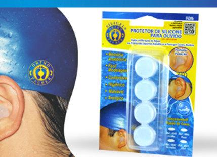 Protetor de Ouvido de Silicone