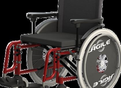 Cadeira de Rodas Ágile Suporta até 120kg (SOB ENCOMENDA)