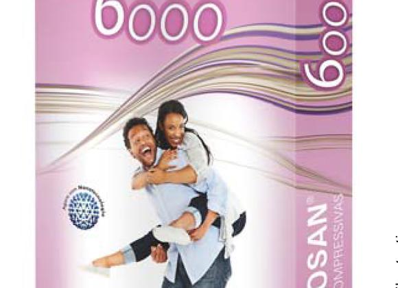 Meia Venosan 6000 20/30 Média compressão unissex