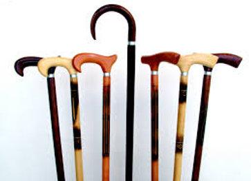 Bengala de madeira  Suporta 90Kg