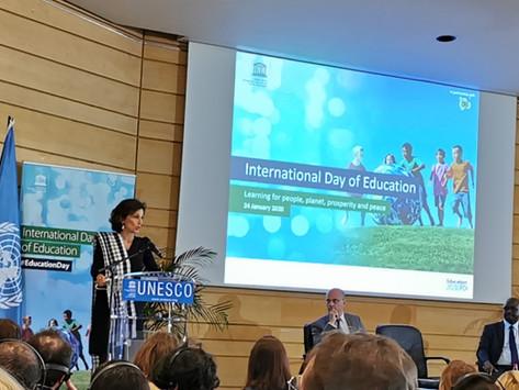 JOURNEE INTERNATIONALE DE L'EDUCATION