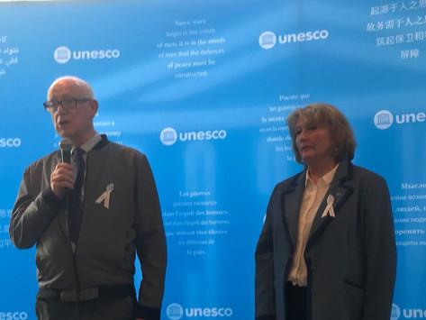 Le CMAtlv présente le VIème FORUM des ATLV au Comité de Liaison des ONG de l'UNESCO