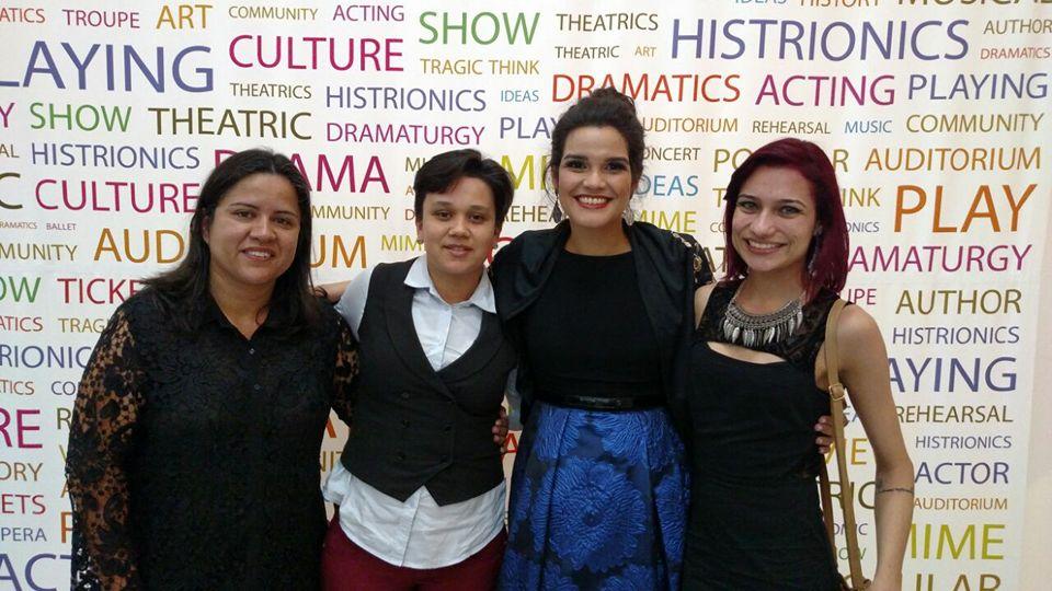 Luciene, Fran e Taci