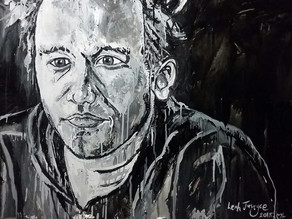 A PORTRAIT OF A MAN - Original Oil Painting By Leah Justyce (BaVA)