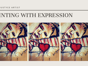 DAILY ART VIDEO   HOW TO PAINT THE FEELING OF LOVE [Leah Justyce Artist]