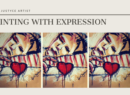 DAILY ART VIDEO | HOW TO PAINT THE FEELING OF LOVE [Leah Justyce Artist]