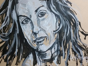 ALANIS MORISSETTE - Original Oil Painting By Leah Justyce (BaVA)