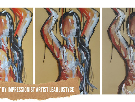 DAILY ART VIDEO   ART VIDEO TECHNIQUES   PAINTING FIGURATIVE FEMALE LESSON [Leah Justyce Artist]