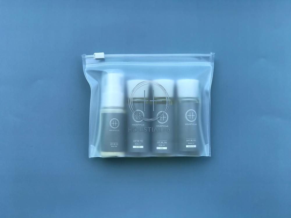 HOLISTIA Labを2つ以上お買い上げのお客様には、3種類全ての香りとボディミルクを楽しめるディスカバリーセットをプレゼント致します。
