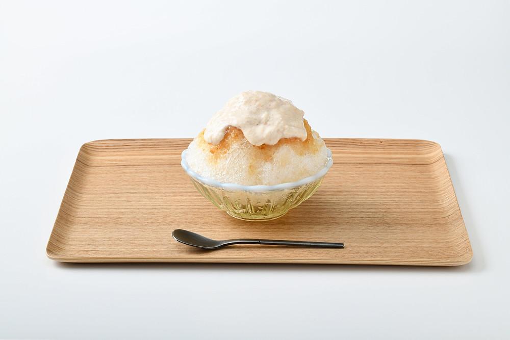 桃とクリームチーズ ~川中島白桃のエスプーマ~