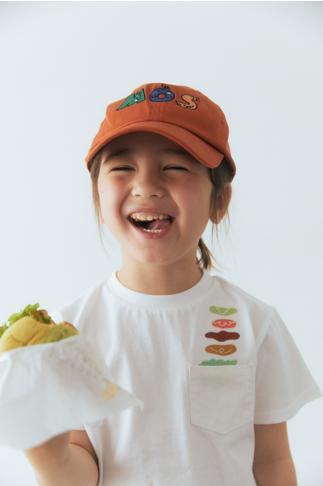 モスバーガーとユナイテッドアローズ グリーンレーベル リラクシングコラボ帽子・Tシャツ