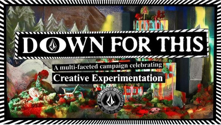 """VOLCOM30周年グローバルキャンペーン""""DOWN FOR THIS""""ローンチのお知らせ"""
