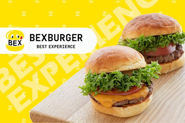 5月15日(土)11時吉祥寺にOPEN!【ファストフードだけどグルメバーガー】全ての素材にこだわり抜いた新ハンバーガーブランド「BEX BURGER (ベックスバーガー)」
