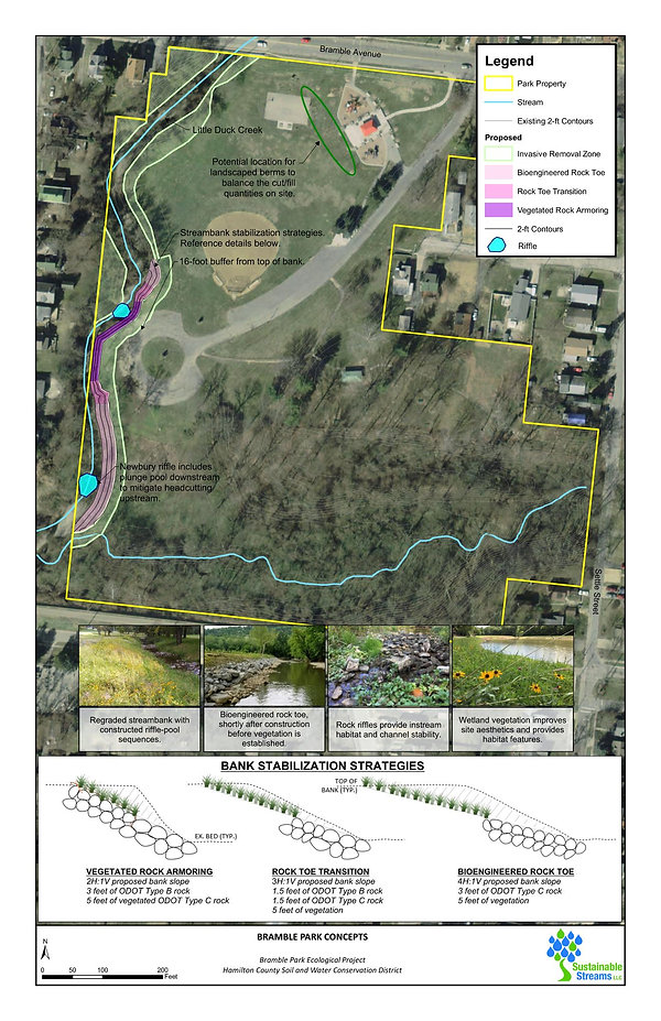 Sustainable Streams - Bramble Park conce