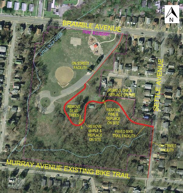 2020-02-28 LDC Trail - Bramble Park sect