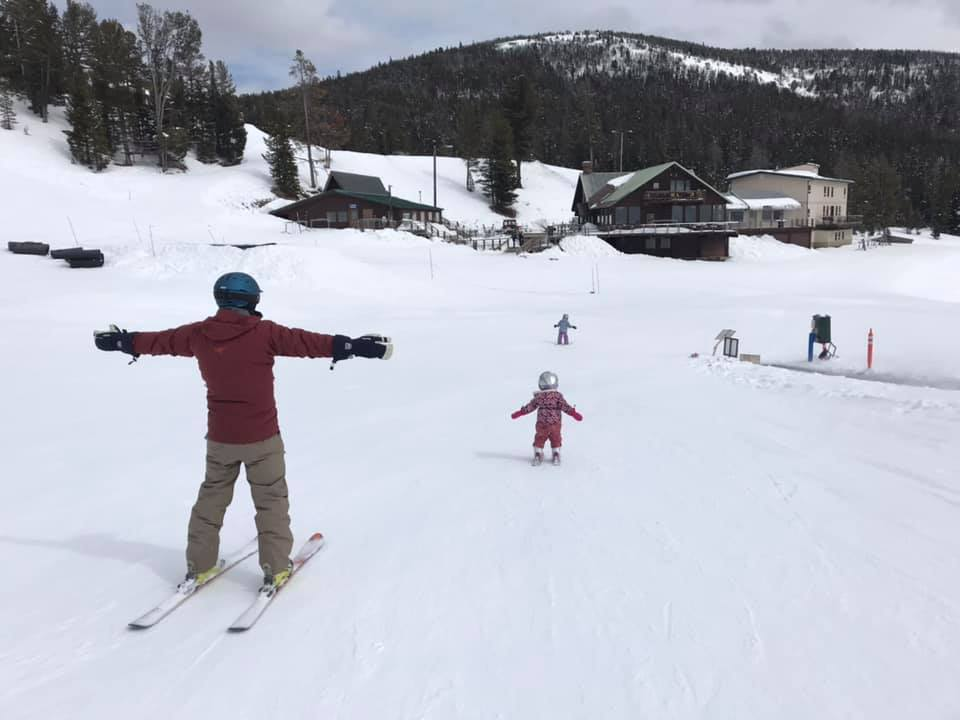 Showdown Ski Area near Niehart Montana