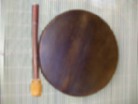 shaman drum 12-inch horsehide with beater
