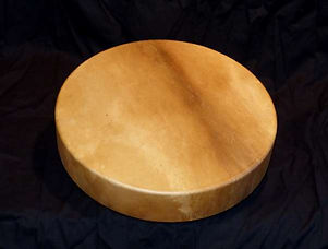 a shaman-type drum from Thunde Valley Drums
