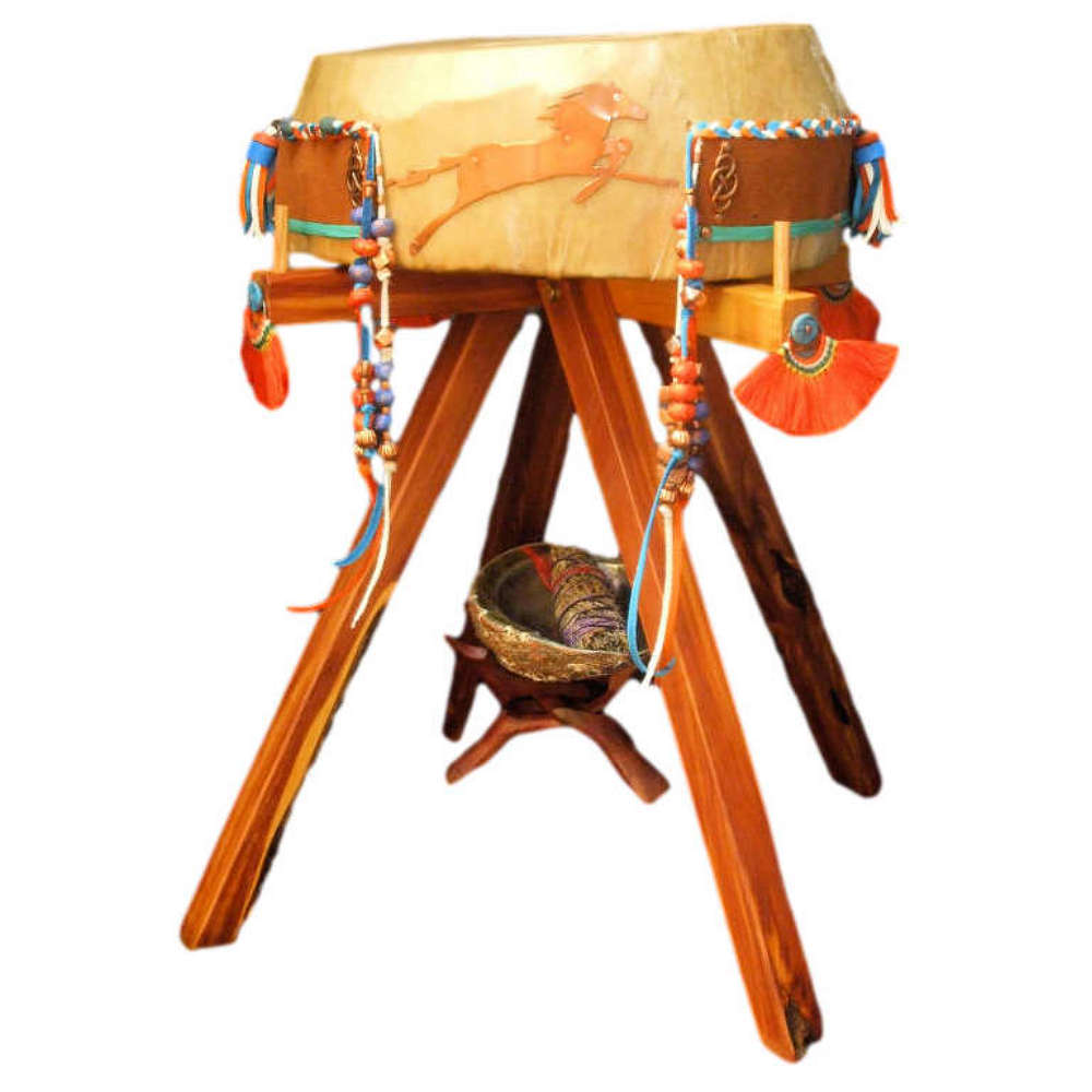 Lightning Rider Drum by Bob