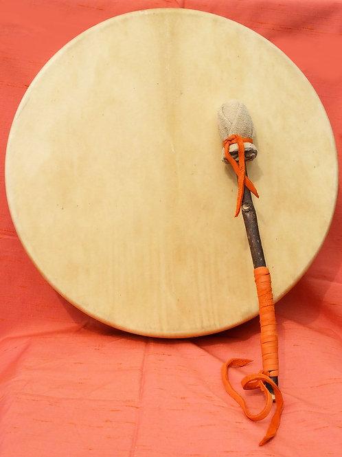 """ELK 15"""" Drum w/ Custom Drumstick"""