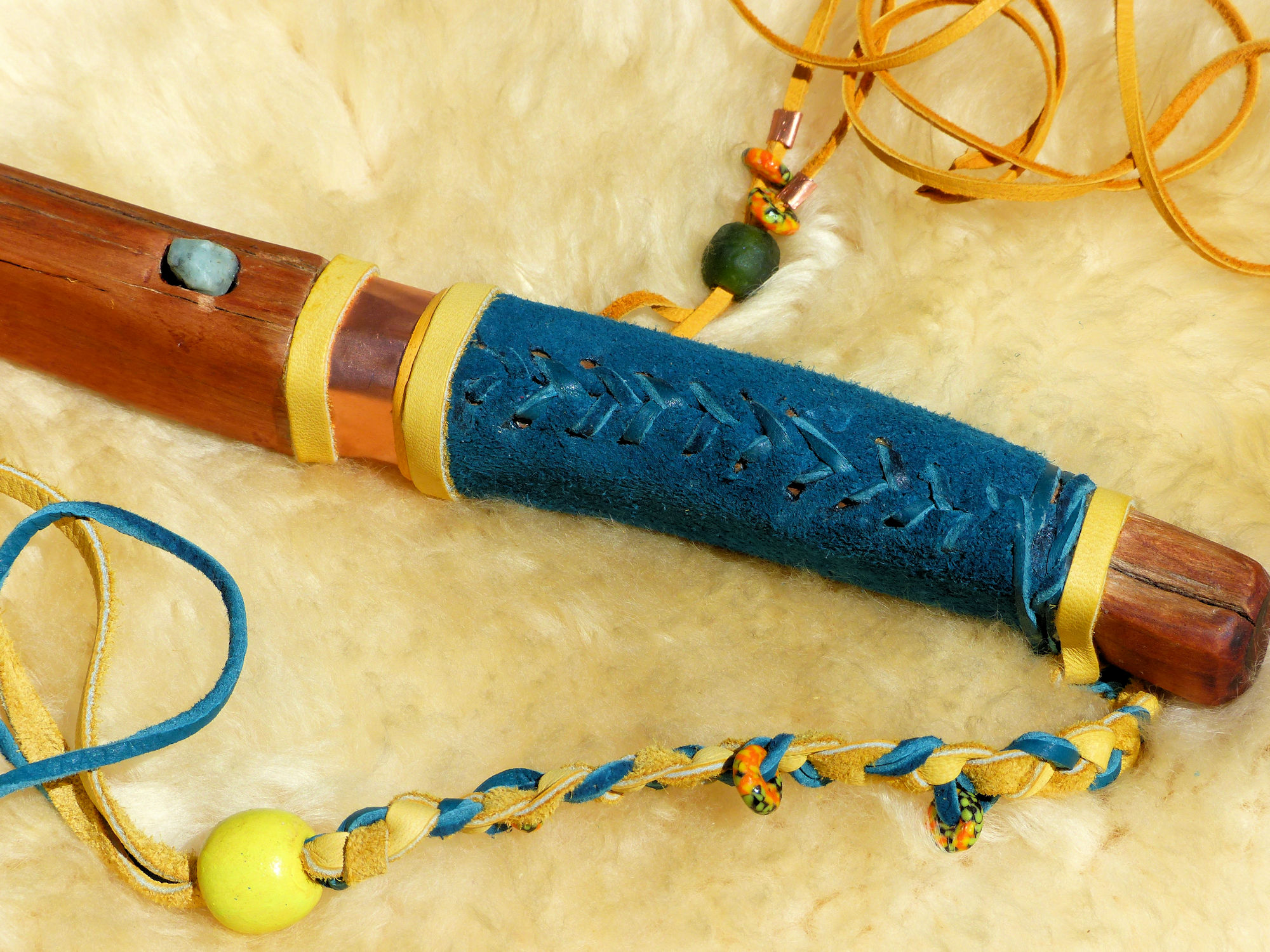 Shamanic Lightning Stick Sample