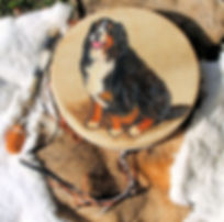 shaman drum 15-inch painted drum