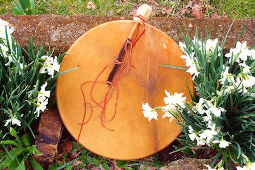 """Elk 20"""" Drum w/ Custom Drumstick"""
