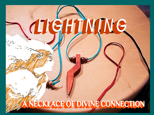 Bob's Handmade Lightning Necklace