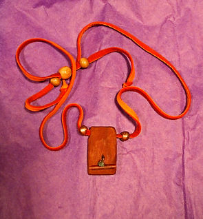 lightning wood emerald copper shaman's necklace.jpg
