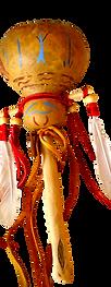 one of shaman bob's rattles