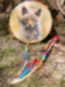 a shaman drum from Thunder Valley Drums