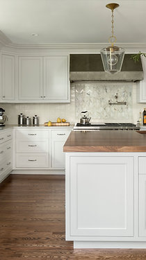 Modern French Country Kitchen Cabinetry