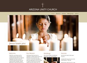 Church Site Website Template | WIX